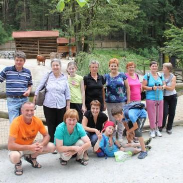 Nagrajenci križanke so obiskali živalski vrt