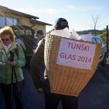 Tunški glas ponovno med krajani
