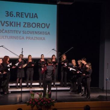 Udeležba ŽKZ Vox Annae na Območni reviji pevskih zborov iz občin Kamnik in Komenda