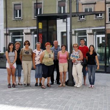 Nagrajenci nagradne križanke Tunškega glasu obiskali Celje