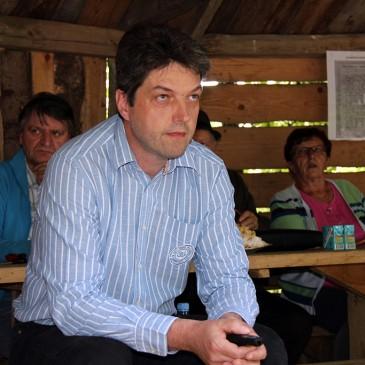 Simon Prosen je v Tunjicah predaval o zgodovinski izvirnosti Slovenije