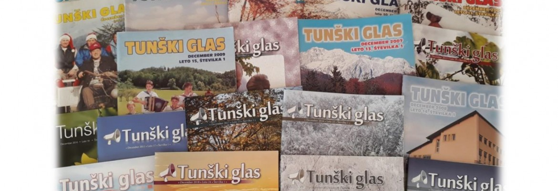 25 let glasila Tunški glas